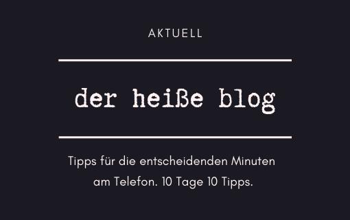 Tipp 1 – Blocke jetzt nicht ab